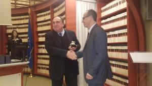 Consegna del Premio Internazionale giuridico-scientifico G. Falcone-P. Borsellino
