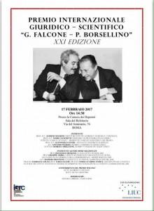 Camera dei deputati, 17 febbraio 2017 - Premio internazionale giuridico-scientifico G. Falcone e P. Borsellino